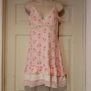 P.J. Salvage pajama dress Small